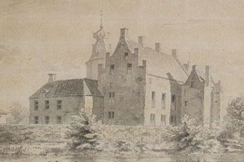Kasteel Rechteren anno 1729