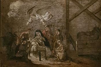 Beschilderde Hollandse kast