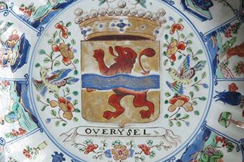 Famille Verte Provinciebord Overijssel