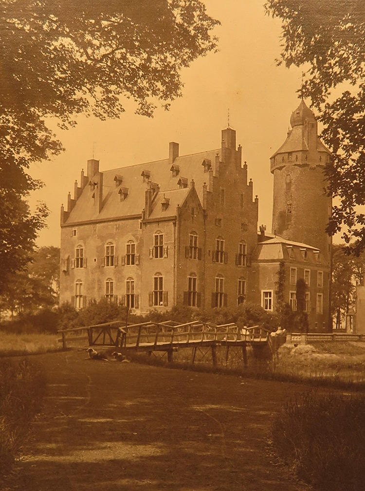 Achterzijde Rechteren rond 1900