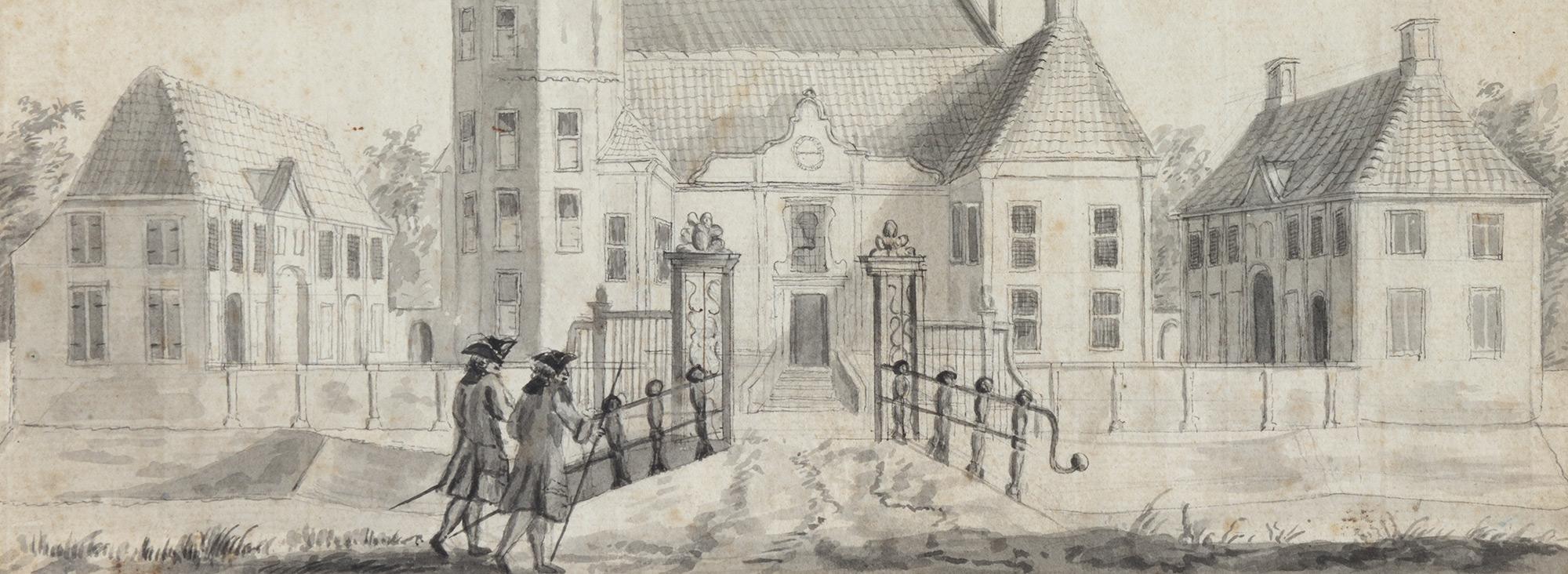 Kasteel Rechteren in 1729